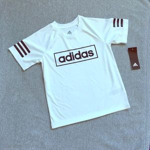 Adidas little boy's tee NWT